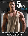 Men's 10-Week Hypertrophy Program (5-Day Split)
