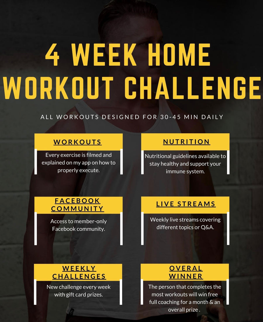 4 Week Home Workout Program