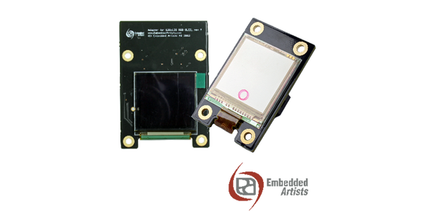 Two new displays, OLED and Memory LCD