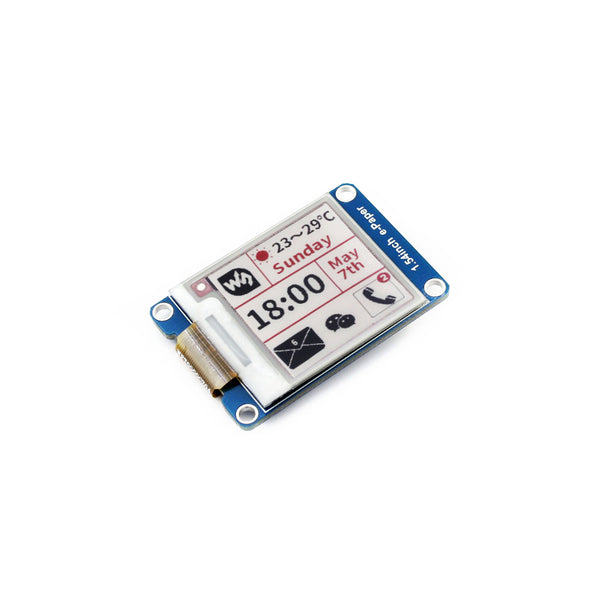 "1.54"" 200x200 SPI E-Paper Module- Black, White and Red"