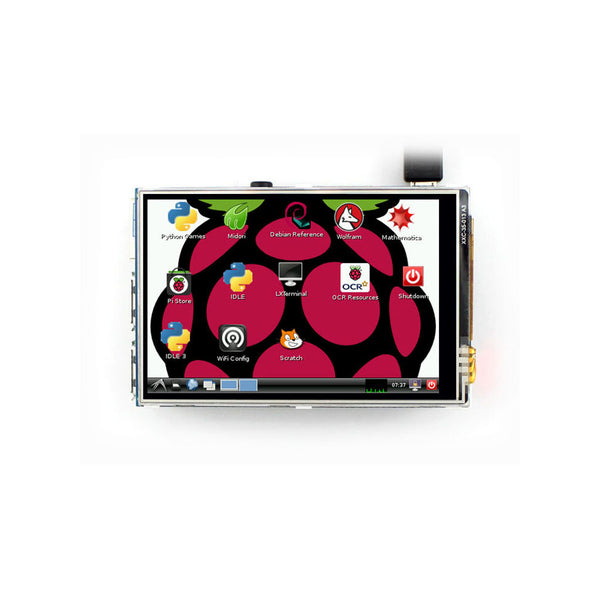 "3.5"" 320X480  Display for Raspberry Pi with Resistive Touch"