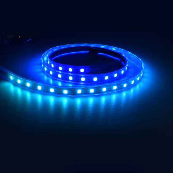 Digital RGB LED Strip with 60 LED Per Meter - Black