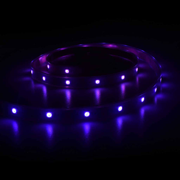 Digital RGB LED Strip with 30 LED Per Meter - White
