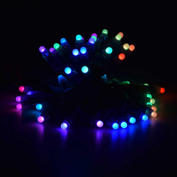 50 Stands of Diffused Thin Digital RGB LED Strip - 12mm