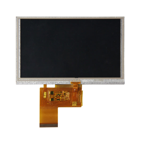 "4.3"" 480x272 TFT LCD Display Panel (ILI6480) With Resistive Touch - RGB"