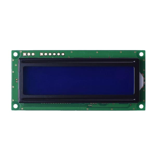 16x2 Gray Character LCD - RS232, I2C, SPI