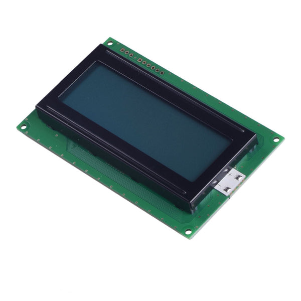 20x4 Gray Character LCD - MCU, RS232, I2C, SPI