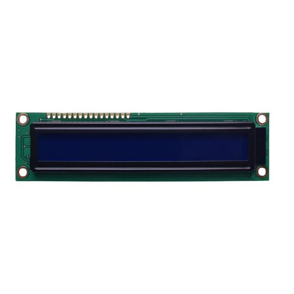 16x1 Large Character LCD - MCU