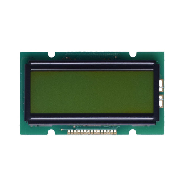 12x2 Yellow Green Character LCD - MCU