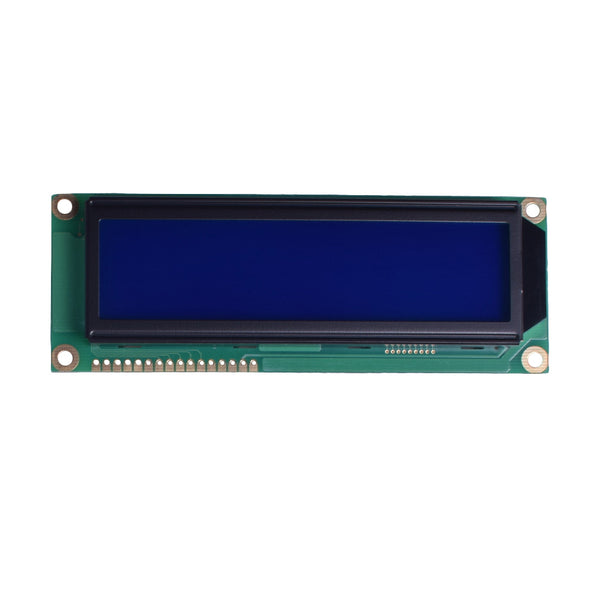 16x2 Large Blue Character LCD - MCU