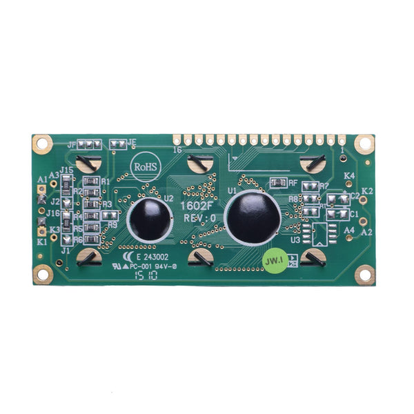 16x2 Yellow Green Character LCD - I2C