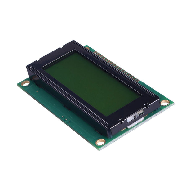 20x4 Yellow Green Character LCD - MCU