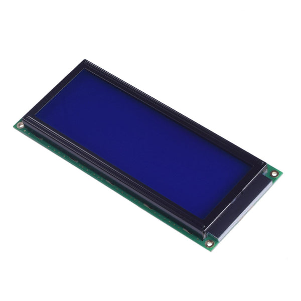 20x4 Large Blue Character LCD - MCU