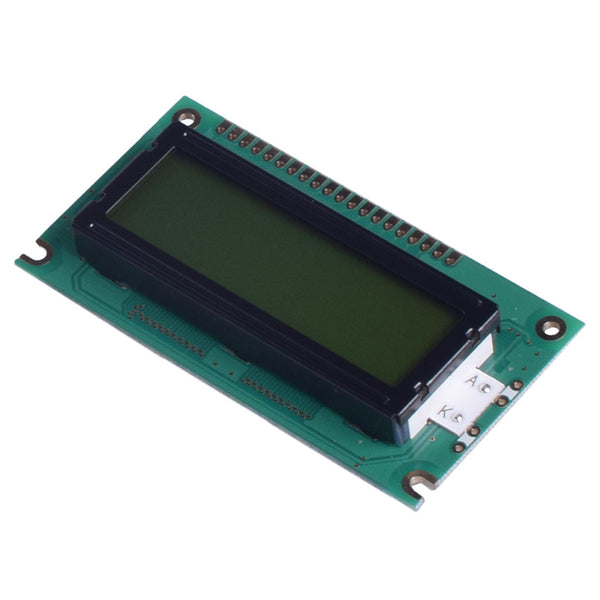 122x32 Yellow Green Graphic LCD - MCU