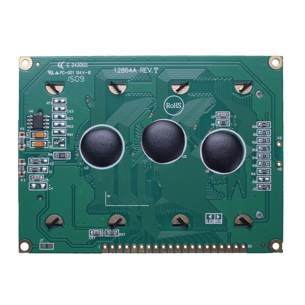 "3.24"" 128x64 Large Graphic LCD - MCU"