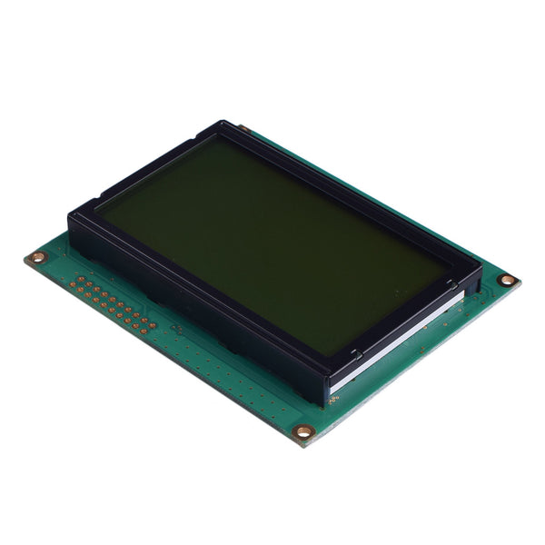 128x64 Yellow Green Graphic LCD - MCU