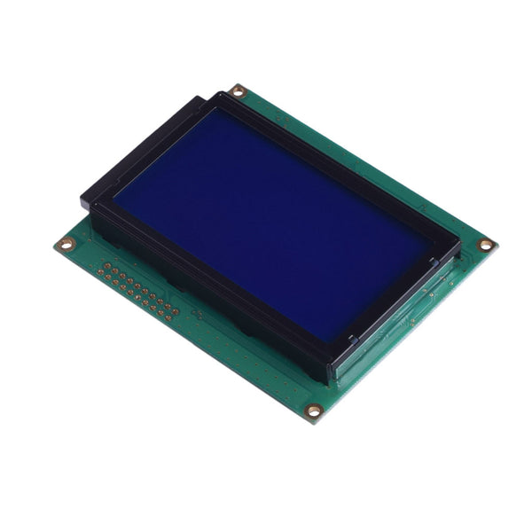128x64 Blue Graphic LCD - MCU