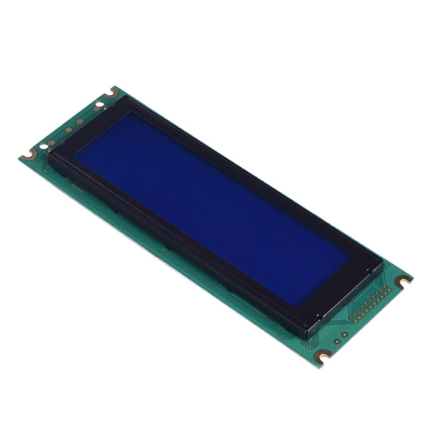 240x64 Blue Graphic LCD - MCU