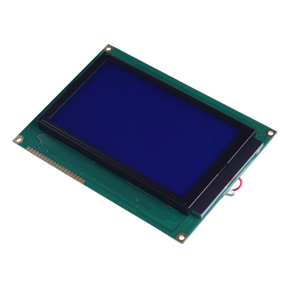 240x128 Blue Graphic LCD - MCU