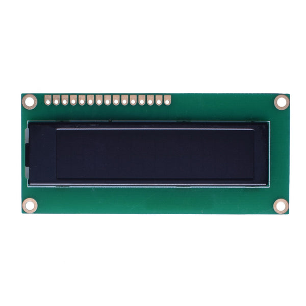 16x2 Yellow Character OLED Display Module - MCU, SPI, I2C