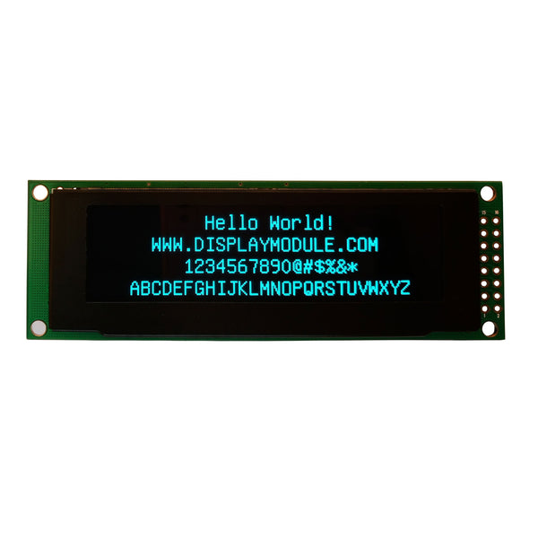 "2.8"" 256x64 Monochrome Graphic OLED Display Module - MCU, SPI"