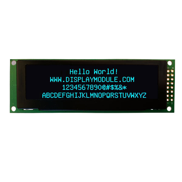 "3.2"" 256x64 Monochrome Graphic OLED Display Module - MCU, SPI"