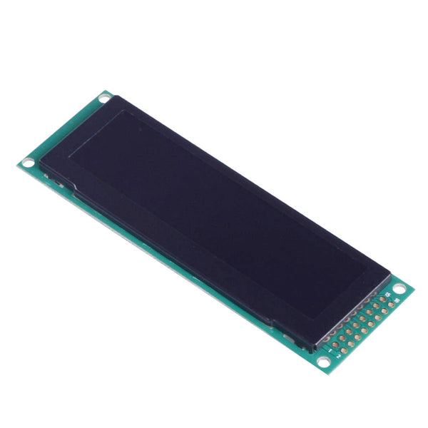 "3.2"" 256x64 Yellow Graphic OLED Display Module - MCU, SPI"