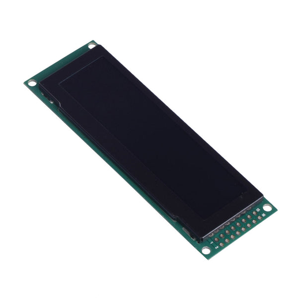 "3.2"" 256x64 Green Graphic OLED Display Module - MCU, SPI"