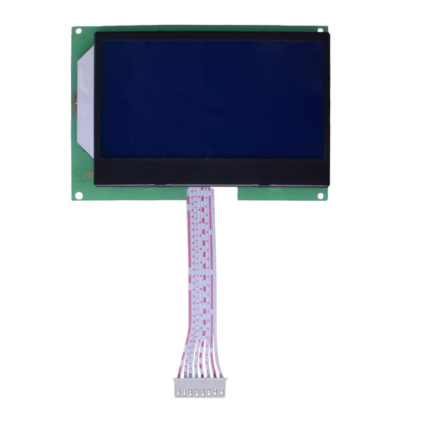 "3.87"" 128x64 COG Blue Graphic LCD - SPI"