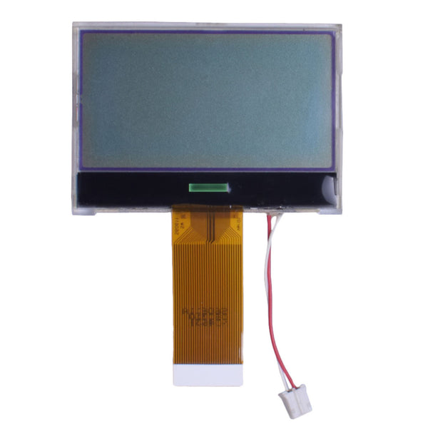 "2.33"" 128x65 COG Gray Graphic LCD - MCU"
