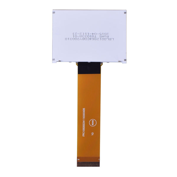 128x64 COG Yellow Green Graphic LCD - MCU, SPI
