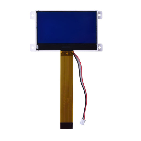 128x64 COG Blue Graphic LCD - MCU, SPI