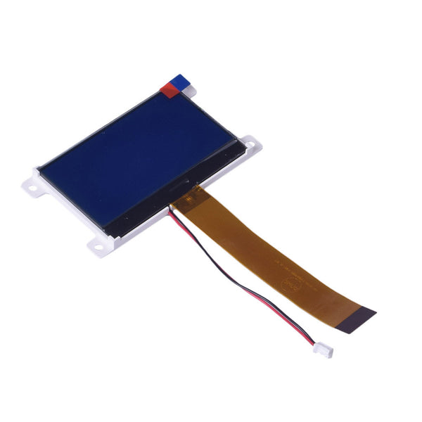 "3.07"" 128x64 Slim COG Blue Graphic LCD - MCU, SPI"