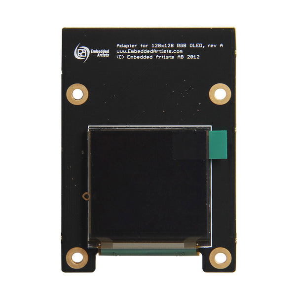 "1.5"" 128x128 RGB OLED Display Module - SPI, MCU"