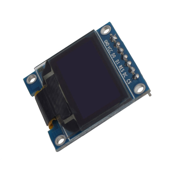 "0.96"" 128x64 Monochrome Graphic OLED Display Module - SPI"