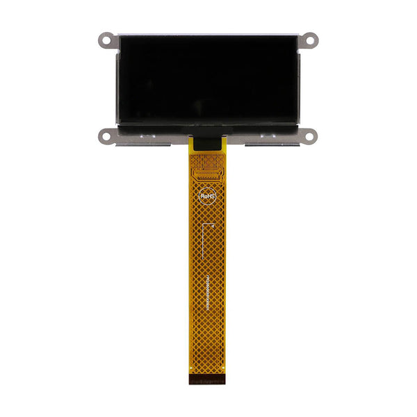 "2.7"" 128x64 Yellow Graphic OLED Display Module - MCU, SPI, I2C"