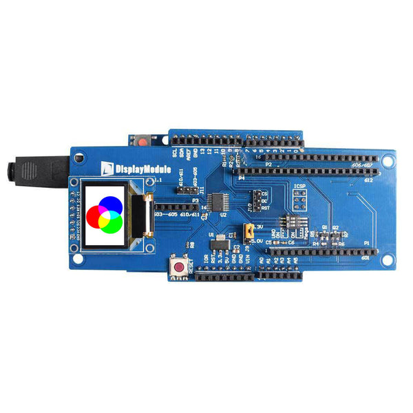 "0.95"" 96x64 Full Color OLED Display Module - SPI"