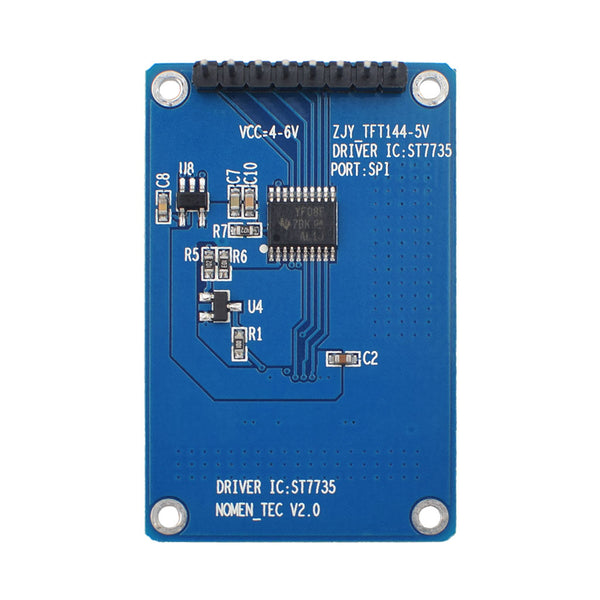 "1.44""  128x128 TFT LCD Display Module - SPI"