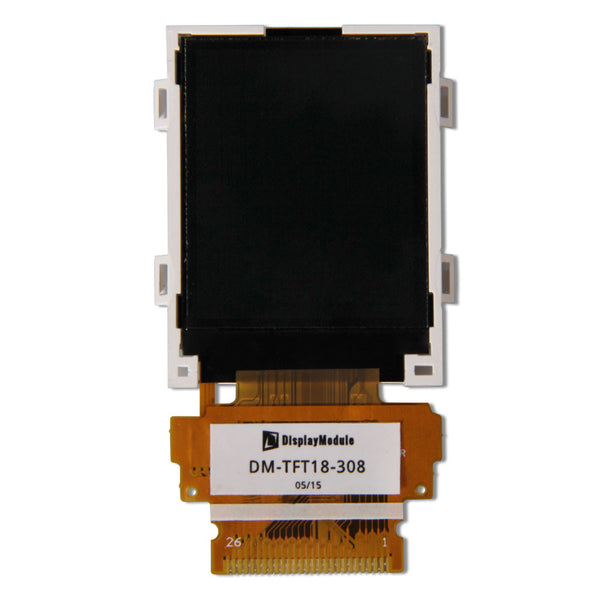 "1.8"" 128x160 TFT LCD Display Panel - MCU, Hot-bar Soldering"