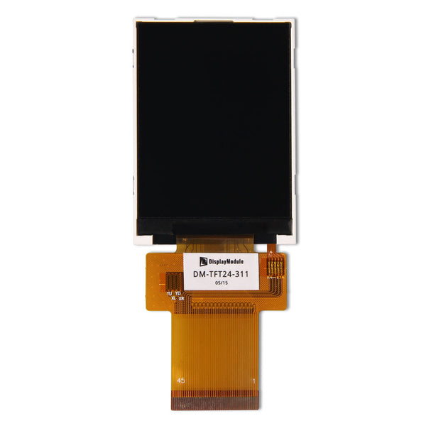 "2.4"" 240x320 TFT LCD Display Panel - SPI, MCU, RGB"