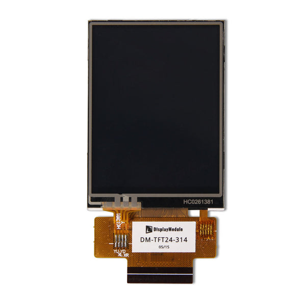 "2.4"" 240x320 TFT LCD Display Panel (ILI9341) With Resistive Touch - MCU"