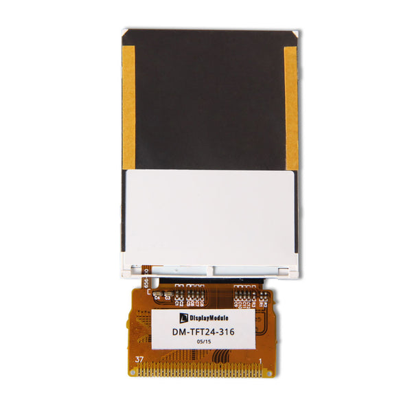 "2.4"" 240x320 TFT LCD Display Panel (RM68090) With Resistive Touch - MCU"