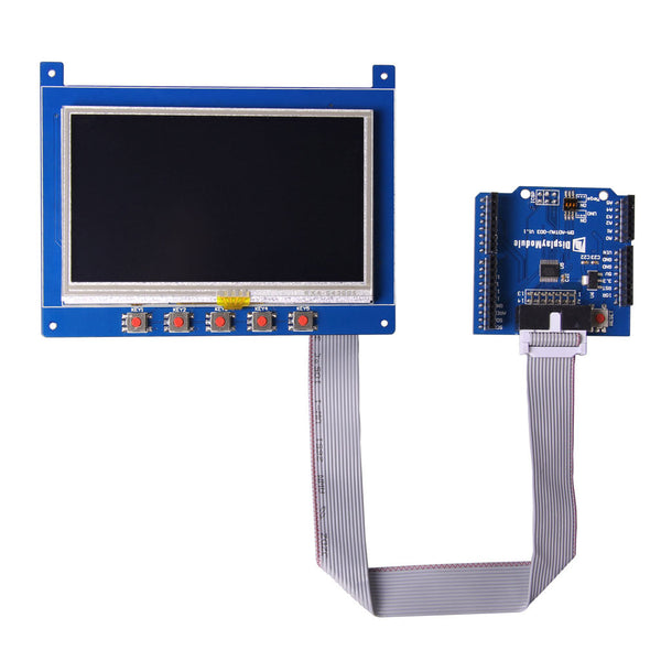 "4.3"" Arduino TFT with Shield"
