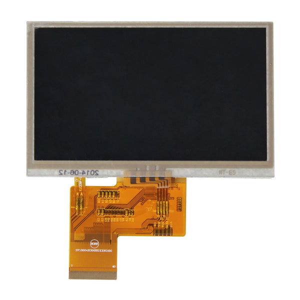 "4.3"" 480x272 TFT LCD Display Panel With Resistive Touch - RGB"