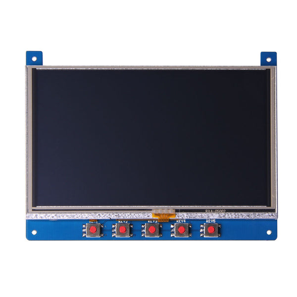 "5.0"" 800x480 Display Shield With Resistive Touch For Arduino And mbed - SPI (Please contact us for volume need)"