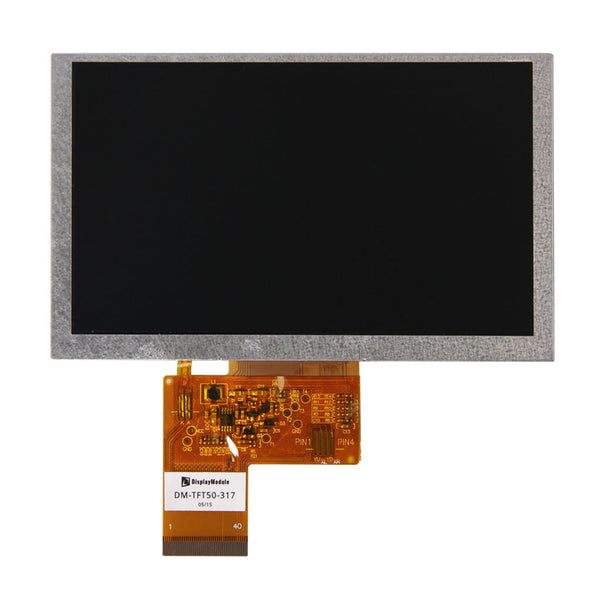 "5.0"" 800x480 TFT LCD Display Panel - RGB"
