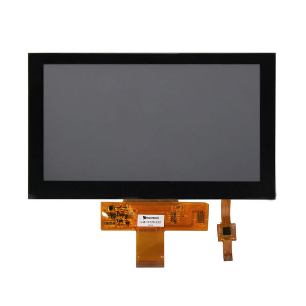 "7.0"" 800x480 TFT LCD Display Panel With Capacitive Touch - RGB"