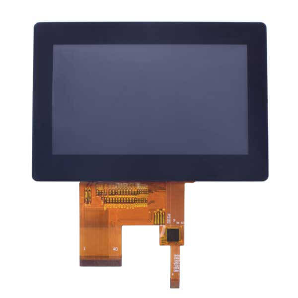 "4.3"" 480x272 TFT LCD Display Panel with Capacitive Touch - RGB"