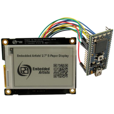 "2.7"" 264x176 ePaper/eink Display Module For Arduino, mbed and Raspberry Pi - SPI"