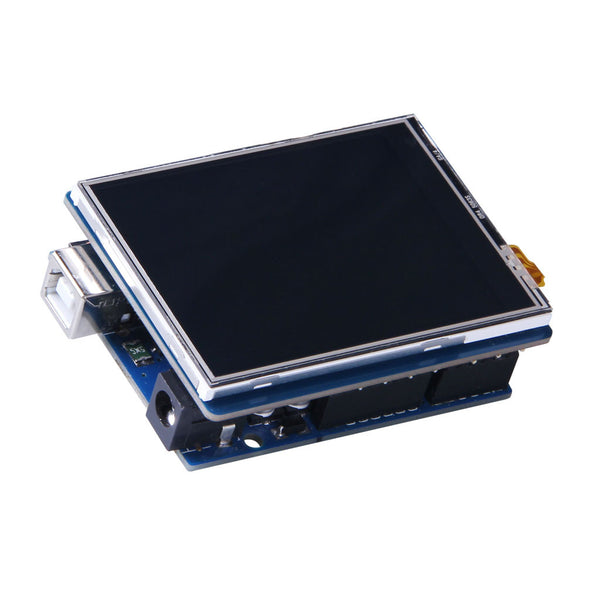 "2.8"" 240x320 TFT LCD Display Module With Resistive Touch For Arduino And mbed - SPI, 4MB Flash"